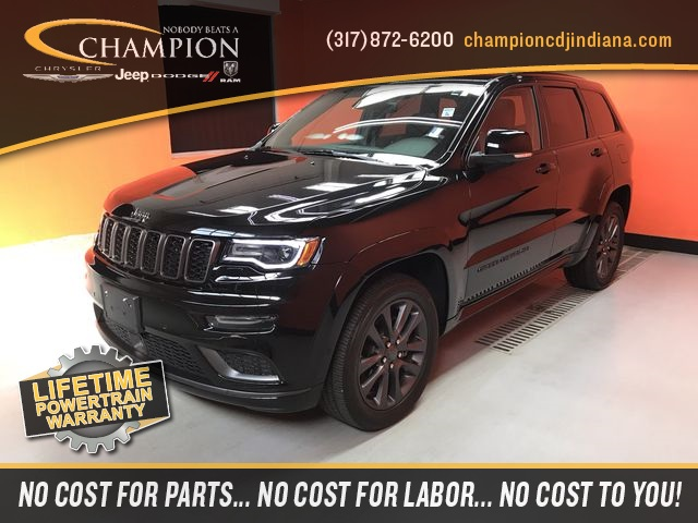 Certified Pre Owned 2018 Jeep Grand Cherokee High Altitude