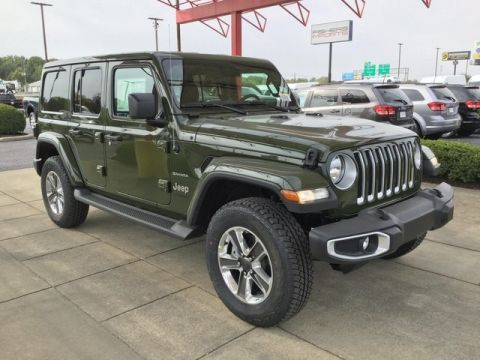 New 2021 JEEP Wrangler Unlimited Sahara